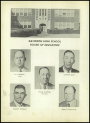 Page 8, 1956 Edition, Davidson High School - Sandstorm Yearbook (Davidson, OK) online yearbook collection