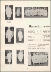 Page 24, 1957 Edition, Fargo High School - Bearcat Yearbook (Fargo, OK) online yearbook collection