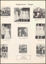 Page 34, 1957 Edition, Fargo High School - Bearcat Yearbook (Fargo, OK) online yearbook collection