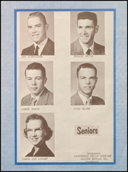 Page 11, 1958 Edition, Fargo High School - Bearcat Yearbook (Fargo, OK) online yearbook collection
