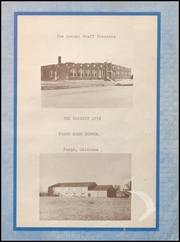 Page 3, 1958 Edition, Fargo High School - Bearcat Yearbook (Fargo, OK) online yearbook collection