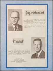 Page 5, 1958 Edition, Fargo High School - Bearcat Yearbook (Fargo, OK) online yearbook collection