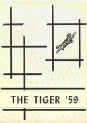 1959 Edition, Reydon High School - El Tigre Yearbook (Reydon, OK)