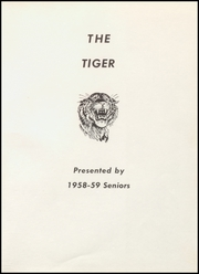 Page 5, 1959 Edition, Reydon High School - El Tigre Yearbook (Reydon, OK) online yearbook collection