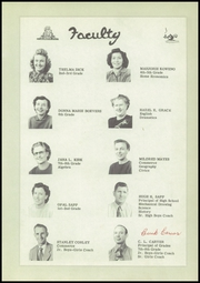 Page 11, 1951 Edition, White Oak High School - Rancher Yearbook (Vinita, OK) online yearbook collection