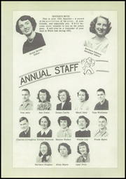 Page 13, 1951 Edition, White Oak High School - Rancher Yearbook (Vinita, OK) online yearbook collection