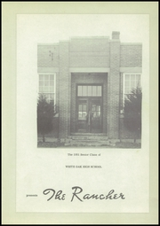 Page 7, 1951 Edition, White Oak High School - Rancher Yearbook (Vinita, OK) online yearbook collection