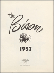 Page 5, 1957 Edition, Hardesty High School - Bison Yearbook (Hardesty, OK) online yearbook collection