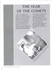 Page 14, 1986 Edition, Pleasant Grove High School - Comets Yearbook (Seminole, OK) online yearbook collection