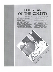 Page 8, 1986 Edition, Pleasant Grove High School - Comets Yearbook (Seminole, OK) online yearbook collection