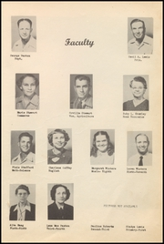 Page 9, 1952 Edition, Sweetwater High School - Bulldog Yearbook (Sweetwater, OK) online yearbook collection
