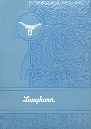 1959 Edition, Carter High School - Longhorn Yearbook (Carter, OK)
