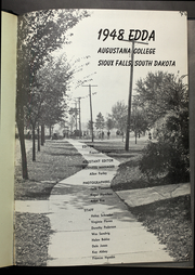 Page 5, 1948 Edition, Augustana College South Dakota - Edda Yearbook (Sioux Falls, SD) online yearbook collection