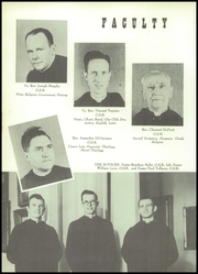 Page 12, 1953 Edition, St Gregorys High School - Cowl Yearbook (Shawnee, OK) online yearbook collection