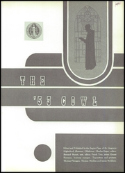 Page 5, 1953 Edition, St Gregorys High School - Cowl Yearbook (Shawnee, OK) online yearbook collection