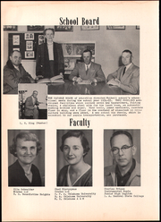 Page 12, 1955 Edition, Mulhall High School - Pirate Yearbook (Mulhall, OK) online yearbook collection