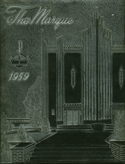 Marquette High School - Marque Yearbook (Tulsa, OK) online yearbook collection, 1959 Edition, Page 1