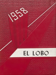 1958 Edition, Yarbrough School - El Lobo Yearbook (Goodwell, OK)