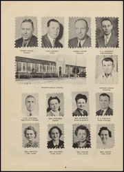 Page 8, 1949 Edition, Sharon High School - Annual Yearbook (Sharon, OK) online yearbook collection