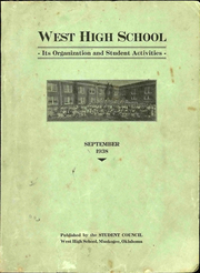 Page 1, 1938 Edition, West High School - Yearbook (Muskogee, OK) online yearbook collection