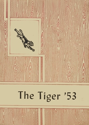 Page 1, 1953 Edition, Jet High School - Tiger Yearbook (Jet, OK) online yearbook collection