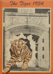 1954 Edition, Jet High School - Tiger Yearbook (Jet, OK)