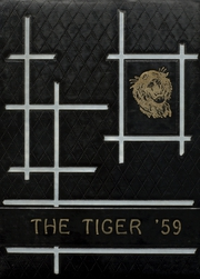 1959 Edition, Jet High School - Tiger Yearbook (Jet, OK)