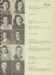 Page 15, 1946 Edition, Bagley HigH School - Cardinal Yearbook (Tahlequah, OK) online yearbook collection