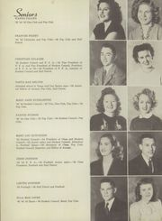 Page 16, 1946 Edition, Bagley HigH School - Cardinal Yearbook (Tahlequah, OK) online yearbook collection