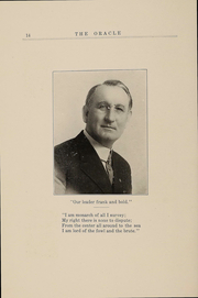 Page 13, 1914 Edition, Southwestern Oklahoma State University - Bulldog Yearbook (Weatherford, OK) online yearbook collection