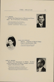 Page 16, 1914 Edition, Southwestern Oklahoma State University - Bulldog Yearbook (Weatherford, OK) online yearbook collection