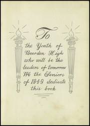 Page 5, 1949 Edition, Bearden High School - Nokusa Yearbook (Bearden, OK) online yearbook collection