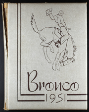 1951 Edition, Berlin High School - Bronco Yearbook (Berlin, OK)