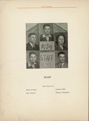 Page 6, 1939 Edition, Arcadia High School - Cardinal Yearbook (Arcadia, OK) online yearbook collection