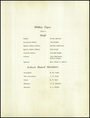 Page 9, 1951 Edition, Milfay High School - Tiger Yearbook (Milfay, OK) online yearbook collection