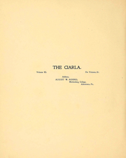 Page 4, 1903 Edition, Muhlenberg College - Ciarla Yearbook (Allentown, PA) online yearbook collection