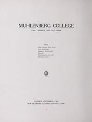 Page 12, 1907 Edition, Muhlenberg College - Ciarla Yearbook (Allentown, PA) online yearbook collection