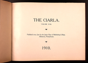 Page 7, 1910 Edition, Muhlenberg College - Ciarla Yearbook (Allentown, PA) online yearbook collection