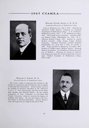 Page 23, 1917 Edition, Muhlenberg College - Ciarla Yearbook (Allentown, PA) online yearbook collection