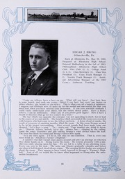 Page 52, 1917 Edition, Muhlenberg College - Ciarla Yearbook (Allentown, PA) online yearbook collection