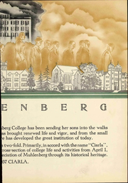Page 13, 1937 Edition, Muhlenberg College - Ciarla Yearbook (Allentown, PA) online yearbook collection