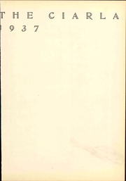 Page 9, 1937 Edition, Muhlenberg College - Ciarla Yearbook (Allentown, PA) online yearbook collection