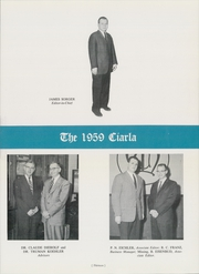 Page 17, 1959 Edition, Muhlenberg College - Ciarla Yearbook (Allentown, PA) online yearbook collection