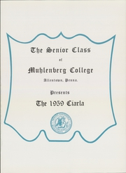 Page 5, 1959 Edition, Muhlenberg College - Ciarla Yearbook (Allentown, PA) online yearbook collection
