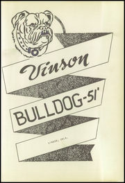 Page 7, 1951 Edition, Vinson High School - Bulldog Yearbook (Vinson, OK) online yearbook collection