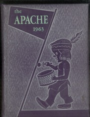 1963 Edition, Adams High School - Apache Yearbook (Adams, OK)