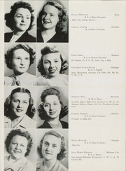 Page 12, 1945 Edition, University of Science and Arts of Oklahoma - Argus Yearbook (Chickasha, OK) online yearbook collection