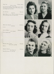Page 15, 1945 Edition, University of Science and Arts of Oklahoma - Argus Yearbook (Chickasha, OK) online yearbook collection