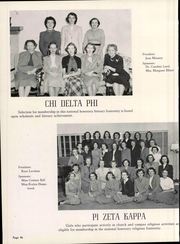 Page 100, 1950 Edition, University of Science and Arts of Oklahoma - Argus Yearbook (Chickasha, OK) online yearbook collection