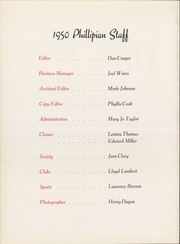 Page 6, 1950 Edition, Phillips University - Phillipian Yearbook (Enid, OK) online yearbook collection